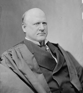 United States Union Army officer and Supreme Court Associate Justice
