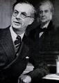 Julian Huxley with portrait.png