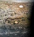 Jupiter - Juno Perijove 9 - October 24 2017 (38701801482).jpg