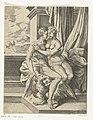 Jupiter en Alcmene Jupiters liefdesavonturen (serietitel), RP-P-OB-102.149.jpg