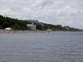 Majori - The beach at Majori