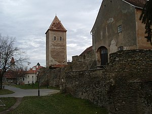 Jurisics Castle - Ruins of Koszeg castle