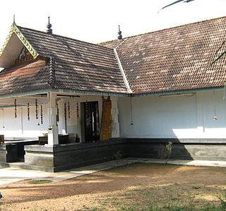 Blandevar Village in Kerala, India