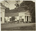 KITLV 26571 - Isidore van Kinsbergen - The guard at the entrance of the park at the Palace of the Governor General at Buitenzorg - Around 1870.tif