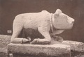KITLV 87716 - Isidore van Kinsbergen - Sculpture of Nandi from the Dijeng plateau - Before 1900.tif