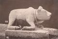 KITLV 87716 - Isidore van Kinsbergen - Sculpture of Nandi from the Dijeng plateau - Before 1900.tif