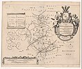 Kaart van de grietenij Hennaarderadeel De grietenie van Hennaerdera deel (titel op object), RP-P-AO-2-21B-4.jpg