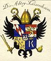 Kaisersheim Abbey coat of arms.jpg