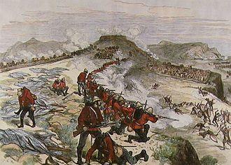Battle of Kambula - Battle of Kambula (Melton Prior)