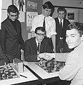 Kampioenschap jeugdschaken van Nederland te Rotterdam, winnaar Leo Kerkhoff uit , Bestanddeelnr 916-2664.jpg
