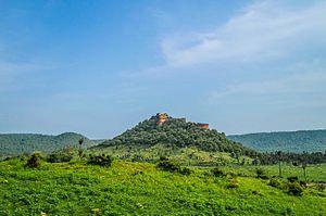 Kankwadi - Kankwari Fort in the middle of Sariska Tiger Reserve.