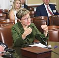 Kaptur testifies with Rep. Walter Jones (R-NC) on the need to reinstate Glass-Steagall (34797664720).jpg