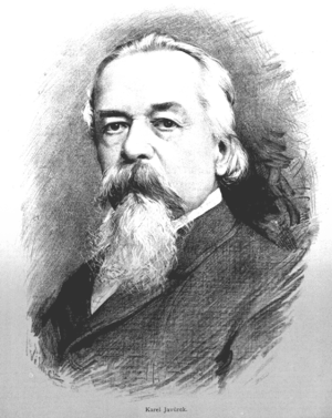 Karel Javůrek - Karel Javůrek, by Jan Vilímek (1885)