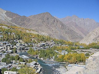 Kargil Town in Province, India