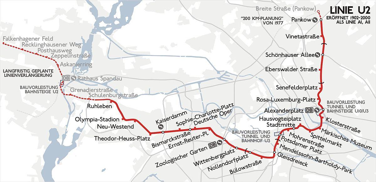 U Bahn Linie 2 Berlin Wikipedia