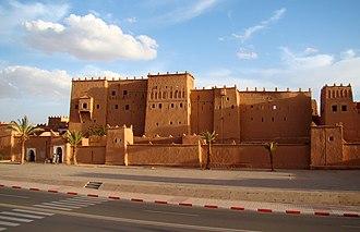 Ouarzazate - Image: Kasbah Taourirt in Ouarzazate 2011