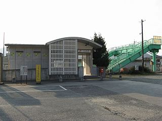 Kawazoe Station Railway station in Ōdai, Mie Prefecture, Japan