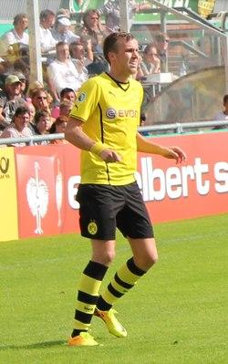 Kevin Großkreutz 2013 in Wilhelmshaven.tif