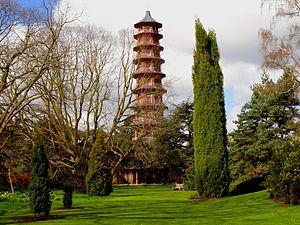Pagoda in Kew Gardens, London