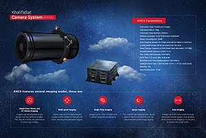 KhalifaSat - KhalifaSat's Camera System, Technical specifications