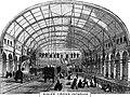 King's Cross Metropolitan Railway Station, Interior - 1862.jpg