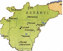 Description de l'image  Kingdom of Ashanti (Asanteman).jpg.