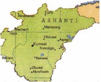 Ashanti Region - Image: Kingdom of Ashanti (Asanteman)