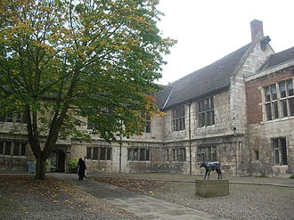 St Mary's Abbey, York - The abbot's house