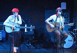 Kings of Convenience live am 11. März 2005