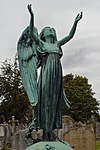 Kingston Cemetery, Angel on Dorothy Frances Victoria Burton Memorial (2).jpg
