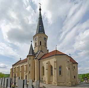 Hauskirchen - Kirche 6532 in A-2184 Hauskirchen