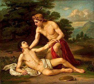 Apollo et Hyacinthus - Kiselev: Death of Hyacinth