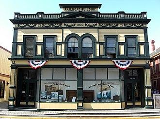 National Register of Historic Places listings in Skagway, Alaska - Image: Klondike Gold Rush NHP Skagway