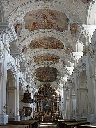 Niederaltaich Abbey - Image: Klosterkirche Niederaltaich 2