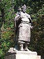 Kobeliaky Shevchenka Str. Pak Monument-Bust of B.Khmelnitskiy (DSCF 1875).jpg