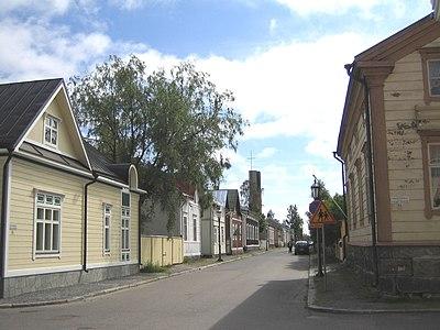 Karlebys äldsta stadsdelar