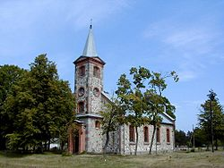 Lutheran Church in Kolka