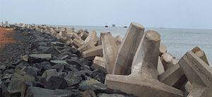 KOLOS - KOLOS units at Krishnapatnam Port Breakwater