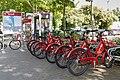 Konrad - Fahrradverleihsystem in Konstanz, Station Döbele.jpg