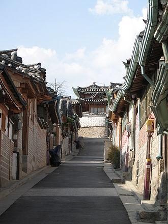 Bukchon Hanok Village - Image: Korea Seoul Bukchon 01