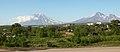 Koryaksky and Avachinsky Volcanoes in Kamchatka 20100707.jpg