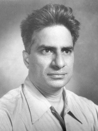 Damodar Dharmananda Kosambi - Image: Kosambi dd