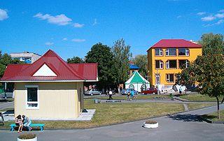 Kostopil City in Rivne Oblast, Ukraine