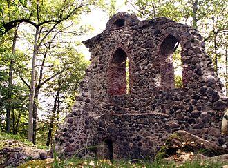 Krimulda Castle - Image: Krimuldaa