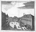 Kupferstich - Nürnberg - Fleischbrücke - Mikoviny - um 1740.jpg