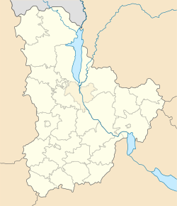 Rzhyshchiv is located in Kiev Oblast