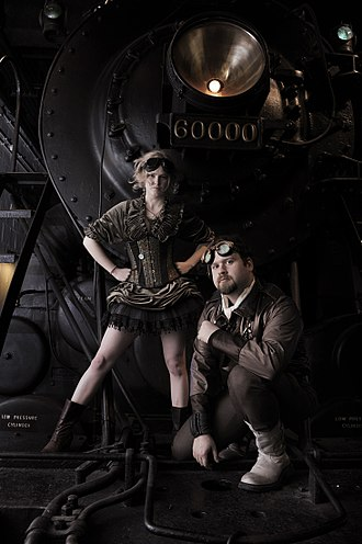 Steampunk - A steampunk-themed photo