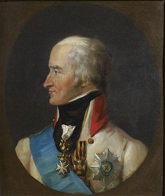 Levin August von Bennigsen - Bennigsen with Saint George Ribbon