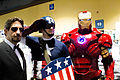 LBCC 2013 - Tony Stark, Captain America and Iron Man (11027773885).jpg