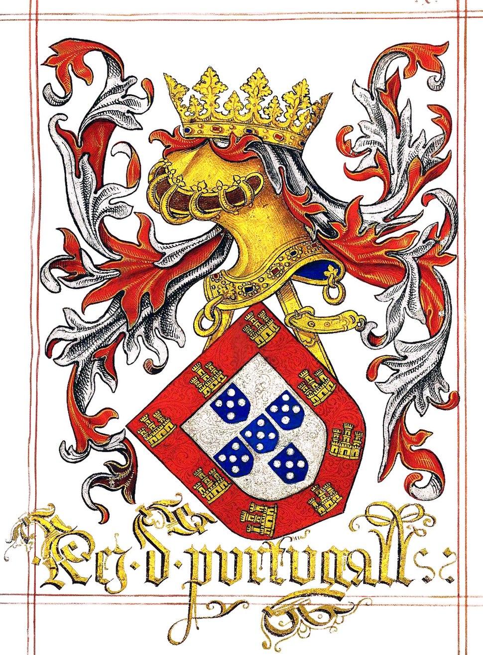 LDAM (f. 010) Rei de Portugal